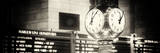 Panoramic View - Grand Central Terminal's Four-Sided Seth Thomas Clock - Manhattan - New York Reproduction photographique par Philippe Hugonnard