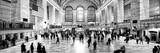 Panoramic View - Grand Central Terminal at 42nd Street and Park Avenue in Midtown Manhattan Fotografisk trykk av Philippe Hugonnard