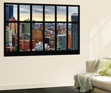 Wall Mural - Window View - Cityscape of Manhattan - New York - USA Wall Mural by Philippe Hugonnard