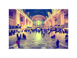 Grand Central Terminal at 42nd Street and Park Avenue in Midtown Manhattan in New York Photographic Print by Philippe Hugonnard