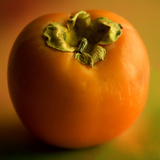 Fruit Persimmon Photographic Print