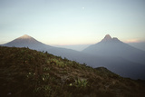 Rwanda Virunga Volcanoes, Karisimbi and Mikeno Photographic Print by Adrian Warren