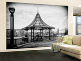 Wall Mural - Moment of Life along the River Thames in London - The Tower Bridge - London Wall Mural – Large by Philippe Hugonnard