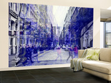 Wall Mural - Urban Vibration Series - Soho and 1WTC - Manhattan - New York - USA Wall Mural – Large by Philippe Hugonnard