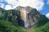 Venezuela Angel Falls, the World's Tallest Waterfall Photographic Print by Adrian Warren