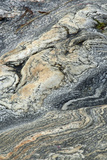 Patterns in Rocks Gneiss Volcanic Rock Photographic Print