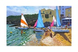 Sailing School, Calella De Palafrugall, Costa Brava, Spain, 2014 Giclee Print by Andrew Macara