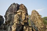 Angkor Bayon Faces Cambodia Photographic Print