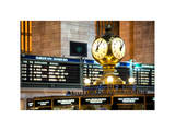 Grand Central Dining Concourse Sign - Grand Central Terminal - Manhattan - New York City Photographic Print by Philippe Hugonnard