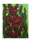Seahorse Society: East, 2014 Giclee Print by Xavier Cortada