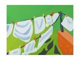 Washing Line, 2014 Giclee Print by Sarah Gillard