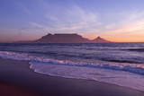South Africa Table Mountain, Cape Town Fotografisk tryk
