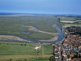 Norfolk Aerial of Wells-Next-The-Sea Photographic Print