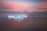 Antarctic Penninsular at Dawn Photographic Print