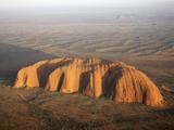 Aerial Uluru, Ayers Rock Photographic Print