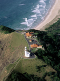 Aerial Byron Bay Lighthouse from the Air Photographic Print
