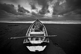 Boat, Monterico Beach Photographic Print