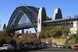 Sydney Harbour Bridge View from the Rocks Area Photographic Print