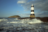 Penmon Lighthouse and Puffin Island August Reproduction photographique