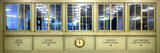 Panoramic View - Antique Glass in the Corridors of the Grand Central Terminal - Manhattan Photographic Print by Philippe Hugonnard