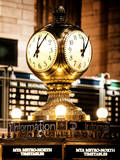 Grand Central Terminal's Four-Sided Seth Thomas Clock - Manhattan - New York Photographic Print by Philippe Hugonnard