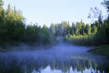 Morning Mist over River Negustyah Photographic Print by Andrey Zvoznikov