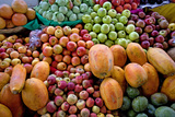 Fruit on Display at Market Stall Photographic Print