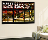 Wall Mural - Window View - Subway Station - Williamburg of Brooklyn - New York Wall Mural by Philippe Hugonnard