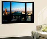 Wall Mural - Window View - Central Park at Sunset - Manhattan - New York Wall Mural by Philippe Hugonnard