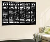 Wall Mural - Window View - Subway Station - Williamburg of Brooklyn - New York Poster géant par Philippe Hugonnard