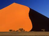 Namib Desert Dune 45 at Sunrise Fotografisk tryk