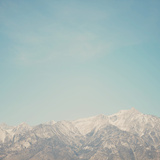 Mountain Tops Photographic Print by Laura Evans