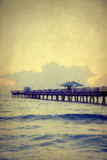 Florida Pier Photographic Print by Elizabeth Urqhurt