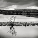 Rural Landscape with Lake Photographic Print by Craig Roberts