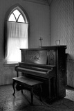 Old Upright Piano Photographic Print by Rip Smith