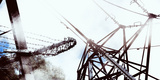Conceptual Image of Electricity Pylon Photographic Print by Clive Nolan