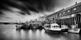 Fishing Boats in Harbour Photographic Print by Aaron Yeoman