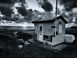 Life Guards Hut on Beach Photographic Print by Tim Kahane
