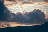 Stormy Sunset Fotografie-Druck von Clive Nolan