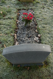Close Up of Grave Photographic Print by Tim Kahane