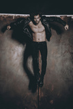 Male Model in Fashion Shoot Photographic Print by Luis Beltran