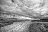 Big Skies in Flat Rural Location Photographic Print by Rip Smith