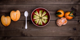 Food Stylishly Presented on a Table Photographic Print by Luis Beltran