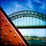 Metal Bridge Fotografisk tryk af Craig Roberts