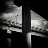 Urban Flyover Fotografie-Druck von Craig Roberts