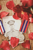 Photograph of Soldier in Uniform Photographic Print by Steve Allsopp
