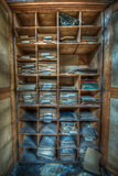 Storage Shelving Photographic Print by Nathan Wright