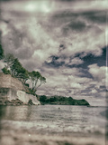 Readymoney Cove with Swimmer Photographic Print by Tim Kahane