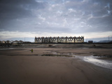 Row of Beach Houses Photographic Print by Clive Nolan