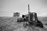 Old Abandoned Tractor Photographic Print by Rip Smith